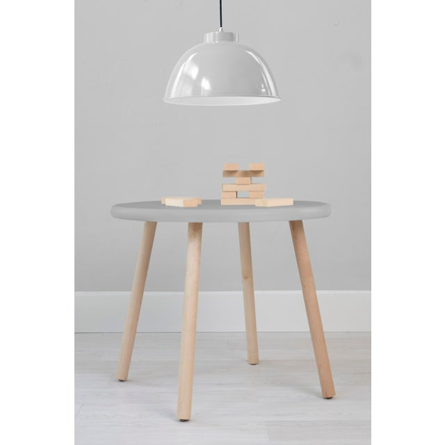 """Peewee Round 23.5"""" Maple Kids Table. Our Peewee table has a sleek modern look and provides plenty play space with a 23.5""""..."""