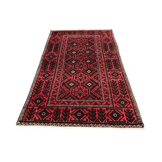 1960s Vintage Persian Rug - 4′ × 6′8″ For Sale