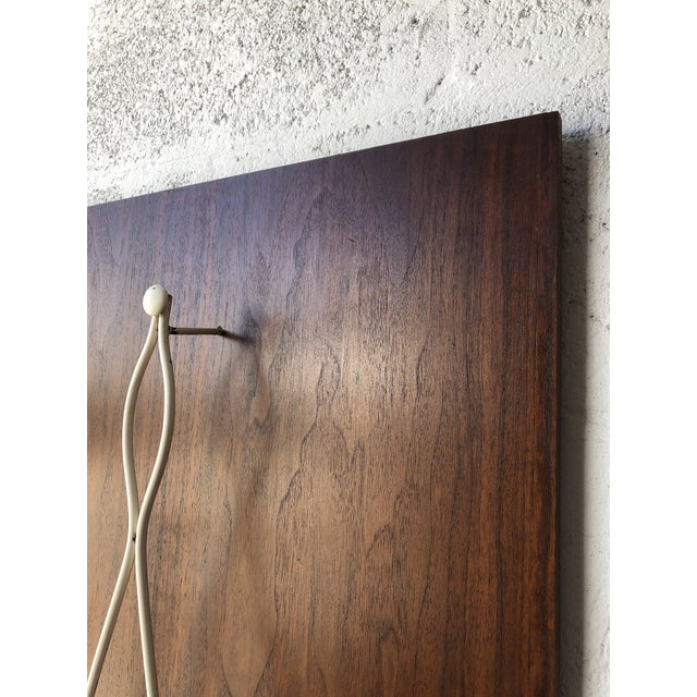 Mid-Century Modern Vintage 1960s Mid Century Modern Wall Sculpture. For Sale - Image 3 of 11