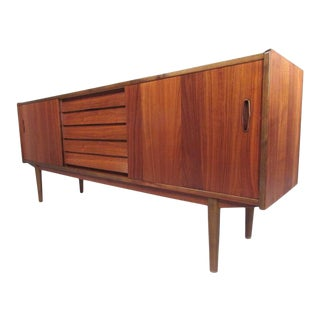 Scandinavian Teak Sideboard by Nils Jonsson for Hugo Troeds For Sale