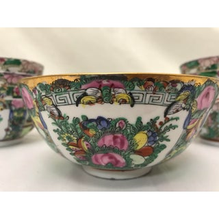 Early 20th Century Famille Rose Hand-Painted Bowls - Set of 9 Preview