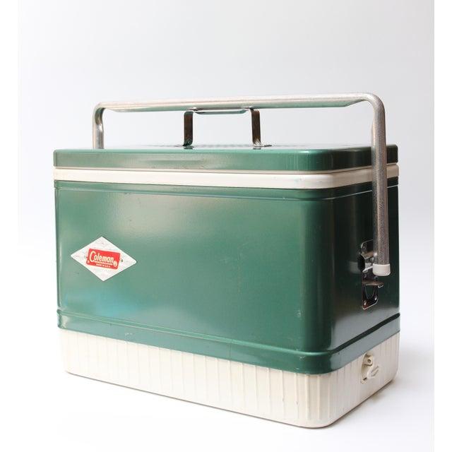 Lodge Vintage Coleman Cooler For Sale - Image 3 of 11