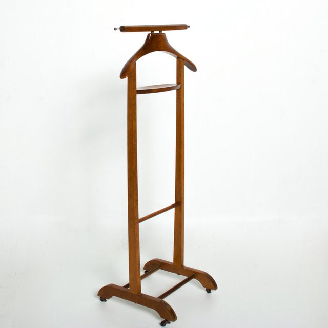 Fratelli Reguitti Italian Mid-Century Modern Valet by Ico Parisi For Sale In San Diego - Image 6 of 9