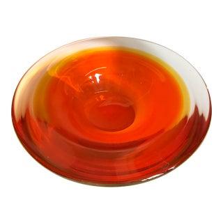 Mid-Century Swedish Glass Bowl