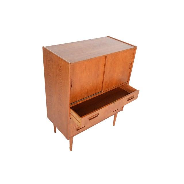 Tibergaard Danish Modern Teak Bureau Dresser For Sale - Image 5 of 10