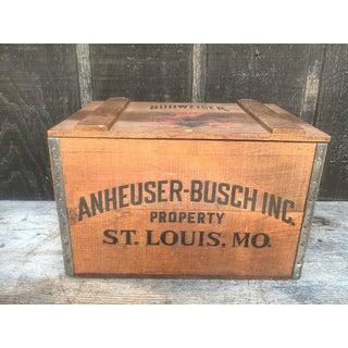 Anheuser-Busch Centennial Beer Crate Preview