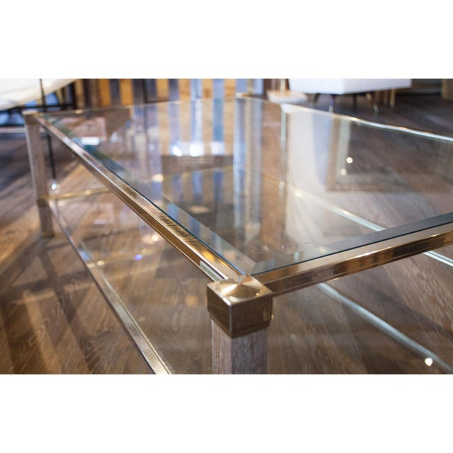 French Pierre Vandel Coffee Table For Sale - Image 3 of 7