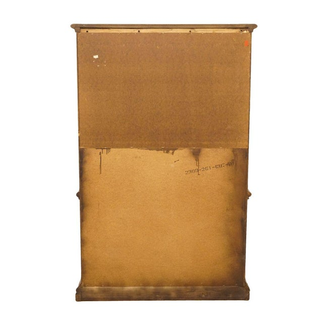 """20th Century Italian American of Martinsville 40"""" Door Chest/Armoire For Sale - Image 11 of 13"""