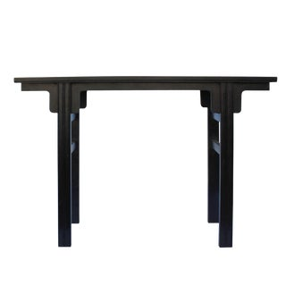 Chinese Brown Huali Rosewood Dragons Inlay Motif Altar Table For Sale