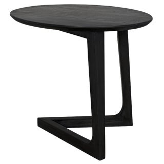 Cantilever Table, Charcoal Black For Sale