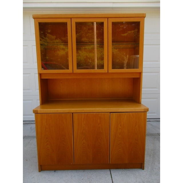 Teak Lighted Hutch or Cabinet by Christian Linneberg -Denmark - Image 2 of 11