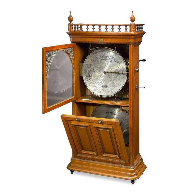Regina Upright Music Box For Sale - Image 4 of 6