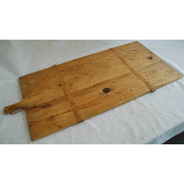 1920s Large French Harvest Bread Cheese Board - Image 6 of 8