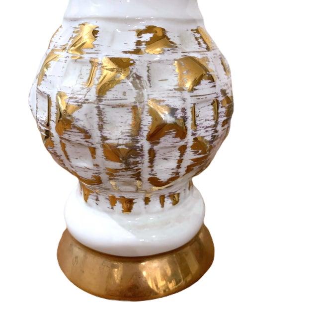 Vintage Hollywood Regency Midcentury Lamp For Sale - Image 4 of 6