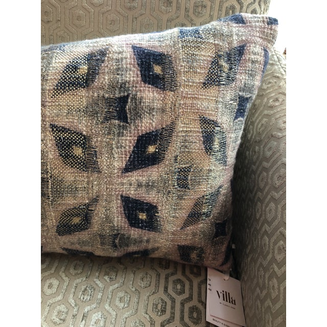 Kenneth Ludwig Chicago Boho Chic Classic Home Julian Rectangle Bolster For Sale - Image 4 of 7