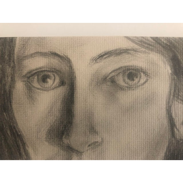 1960s Drawing of a Lady For Sale - Image 4 of 5