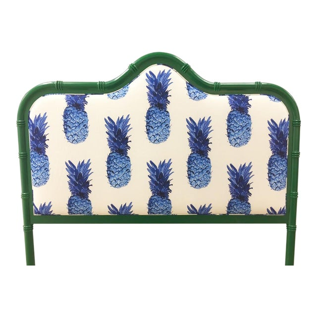Taylor Burke Home Emerald Queen Bamboo Headboard - Image 1 of 3