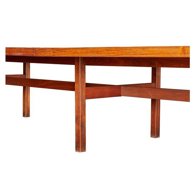 Lovely Massive Foot Jens Risom Walnut Conference Table Circa - 15 foot conference table
