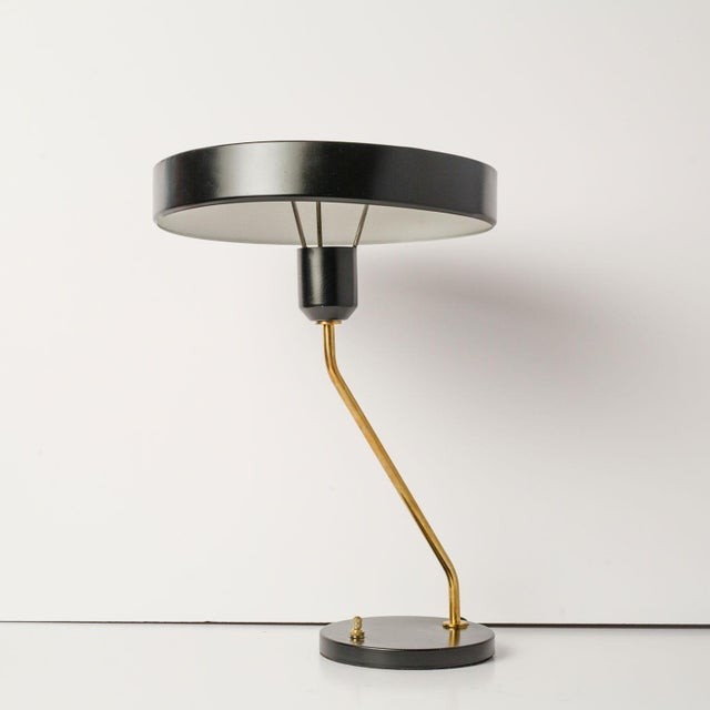 Brass Mid-Century Desk Lamp For Sale - Image 7 of 7