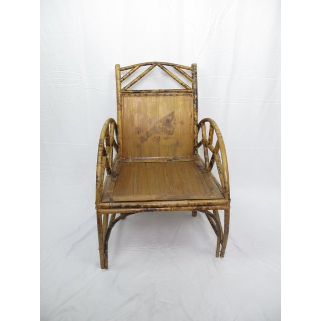 Vintage Chinese Bamboo Chair For Sale In Portland, OR - Image 6 of 6