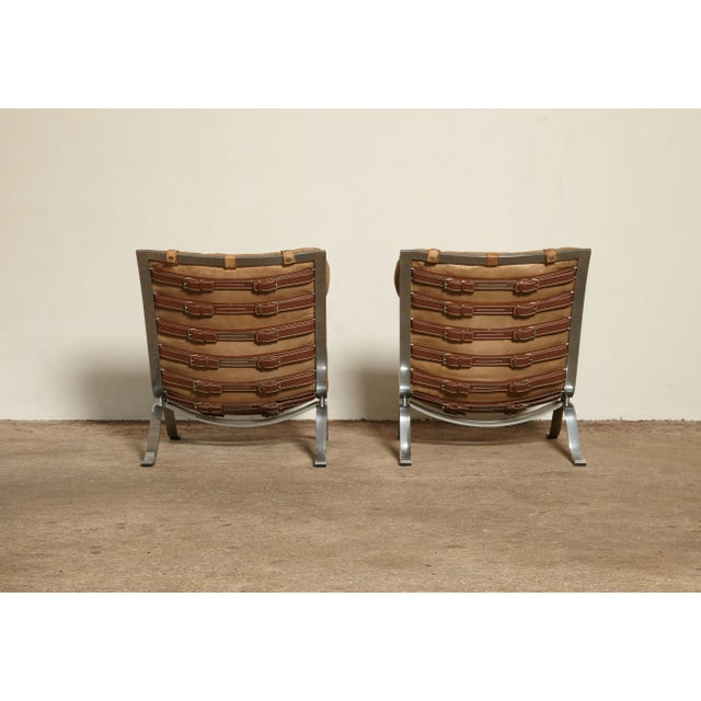 Pair of Arne Norell Ari Chairs, Norell Mobler, Sweden, 1970s For Sale - Image 6 of 13
