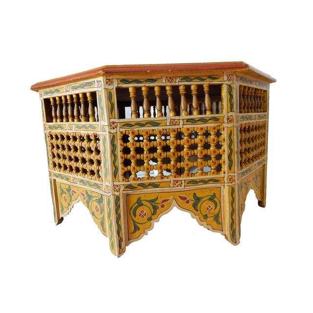 Moroccan 8 Sided Coffee Table - Image 10 of 10