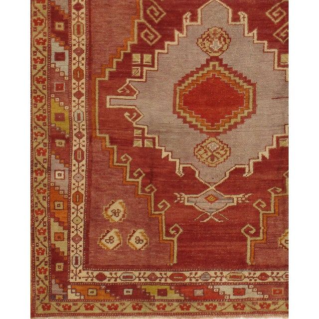 From Kars in the North East of Turkey these vintage hand knotted light colored rugs are similar to Oushaks and are among...