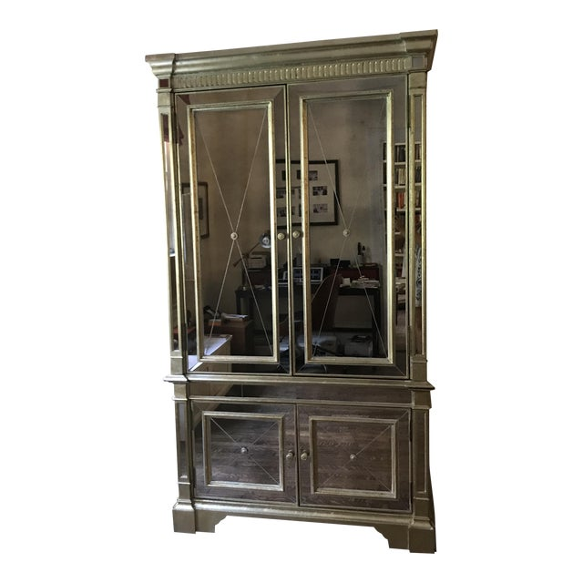 Neiman Marcus Mirrored Armoire - Image 1 of 7