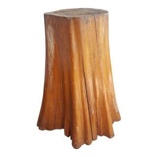 Organic Tree Stump Table For Sale