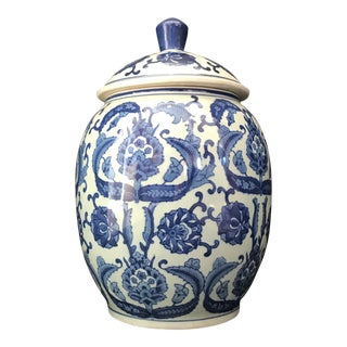 Traditional Chinese Porcelain Jar