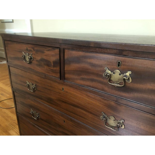 Traditional 19th Century Antique English Chest For Sale - Image 3 of 10
