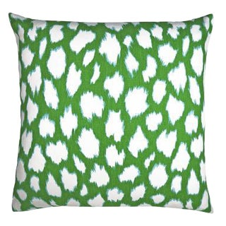 """Claire Pillow, Shamrock, 22""""x22"""" For Sale"""