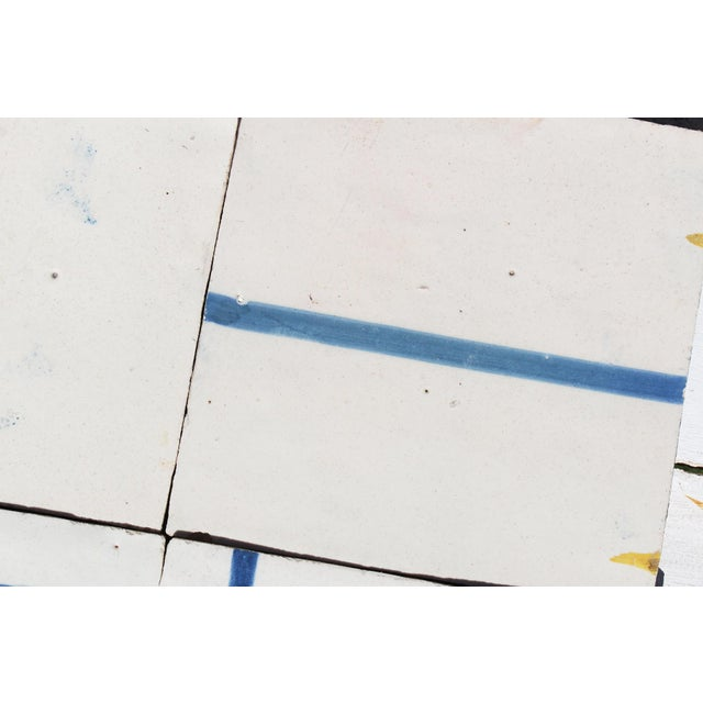 18th Century Minimalist Baroque Tiles - Set of 6 For Sale - Image 9 of 13