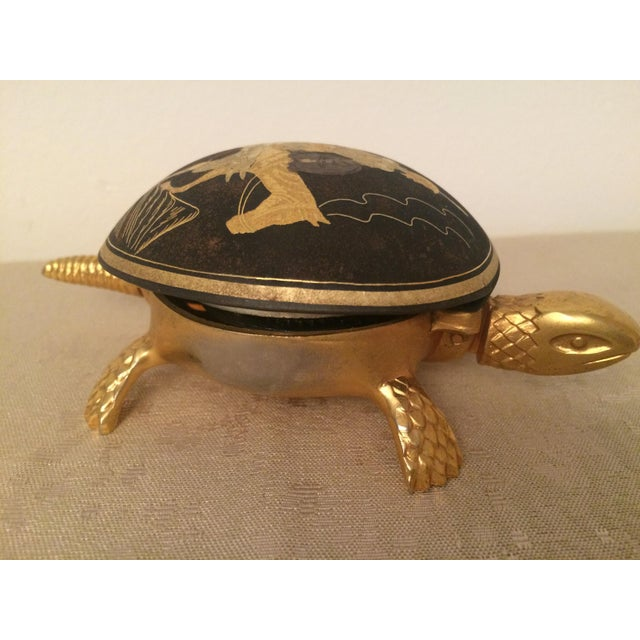 Brass Turtle Hotel Desk Bell - Image 2 of 5