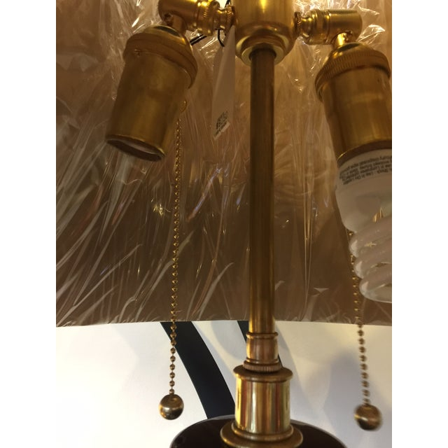 Mid-Century Brown Table Lamps - A Pair - Image 5 of 5