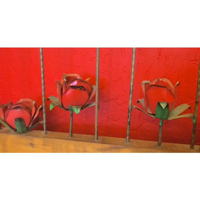 Framed Metal Roses - Image 4 of 5