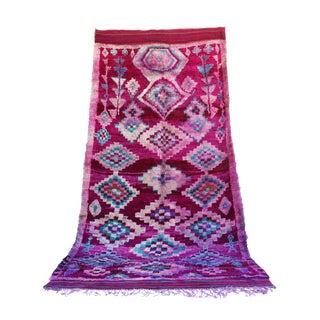 "Vintage Talsint Moroccan Berber Rug - 5'1"" x 14'9"" For Sale"