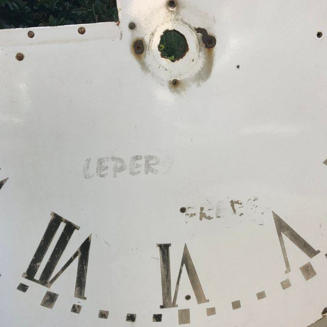 French Clock Face For Sale - Image 3 of 5