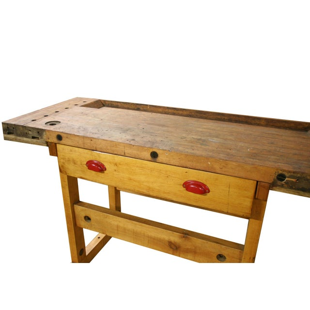 1945 Maple Wood Workbench - Image 2 of 4