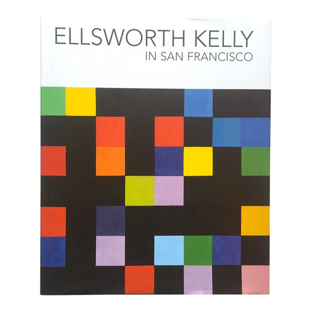 """Ellsworth Kelly in San Francisco"" 1st Edtn Exhibition Modern Art Book For Sale"