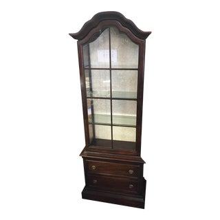 Brandt Furniture Company Display Cabinet For Sale