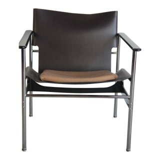 Vintage Charles Pollock for Knoll 657 Sling Chair For Sale