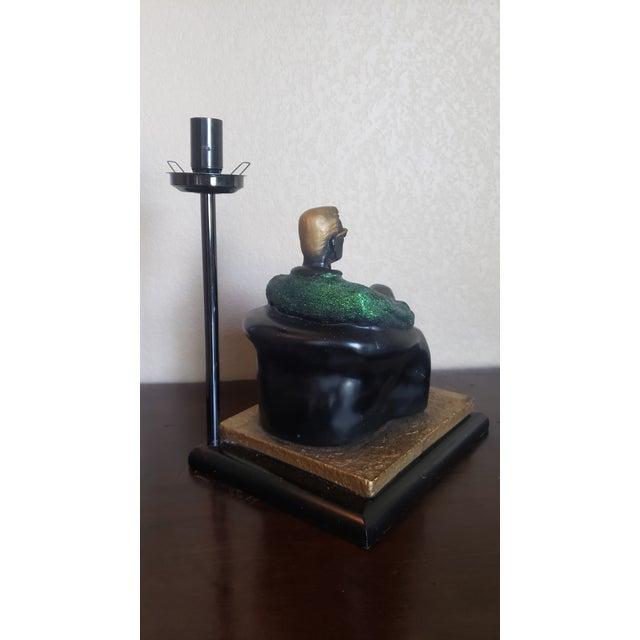 1980's Reto Figurative Pop Culture Table Lamp For Sale - Image 12 of 13