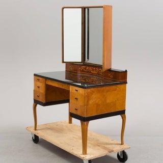 """1935 Art Deco Carl Malmsten """"Haga"""" Vanity-Makeup Table Preview"""