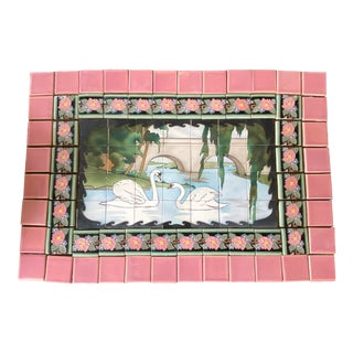 1920s Early California Tile Companies Calco/Claycraft Mural For Sale
