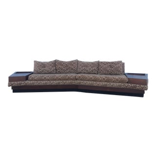 Mid Century Modern Boomerang Sofa by Adrian Pearsall For Sale