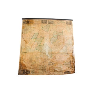 Pre-Civil War Orange Rockland County Map For Sale