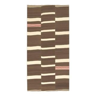 20th Century Vintage Kilim Composition Rug- 6′2″ × 12′6″ For Sale