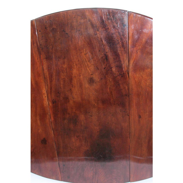 George II Mahogany Dining Table With Spanish Feet For Sale - Image 9 of 13