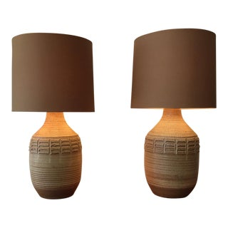 Bob Kinzie Table Lamps - A Pair For Sale
